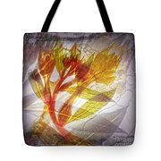 11315 Flower Abstract Series 03 #13 Tote Bag