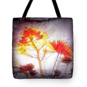 11318 Flower Abstract Series 03 #16 Tote Bag