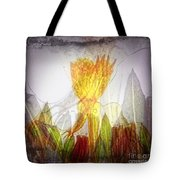 11322 Flower Abstract Series 03 #20 Tote Bag