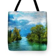 Nature New Landscape Tote Bag