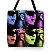 11438 Mannequin Series 11-14 Can You Keep A Secret Pop Art 2 Tote Bag