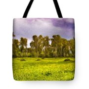 Landscape Nature Scene Tote Bag