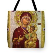 Mary And Child Tote Bag