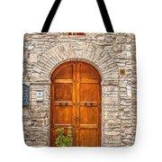 1164 Assisi Italy Tote Bag