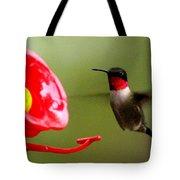 1164 - Hummingbird Tote Bag