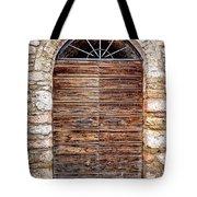 1165 Assisi Italy Tote Bag