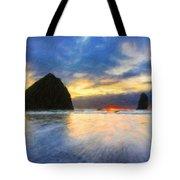 Nature Landscape Art Tote Bag