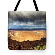 1174 Brewing Desert Storm Tote Bag