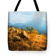 Nature Landscape Graphics Tote Bag