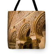 Alcazar Of Seville - Seville Spain Tote Bag