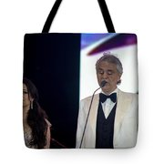 Andrea Bocelli In Concert Tote Bag