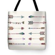 12 Arrows Tote Bag