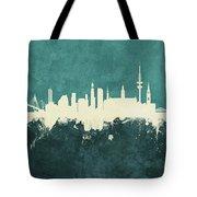 Berlin Germany Skyline Tote Bag