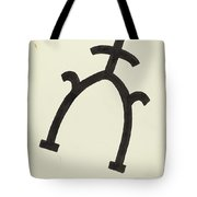 Cattle Brand Tote Bag