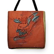 Crazy Pineapple - Tile Tote Bag