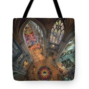 Ely Cathedral Flower Festival Tote Bag by James Billings