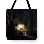Forest Path Near Spandau Tote Bag