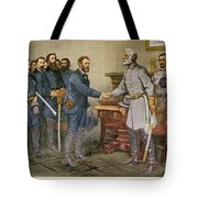 Lees Surrender 1865 Tote Bag by Granger