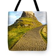 Lindisfarne Castle Tote Bag