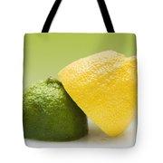 12 Organic Lemon And 12 Lime Tote Bag