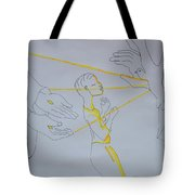 Slain In The Holy Spirit Tote Bag