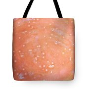12. Speckled Pink And White Glaze Painting Tote Bag