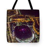 The Grateful Dead At Soldier Field Aerial Photo Tote Bag