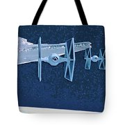 Trilogy Star Wars Poster Tote Bag