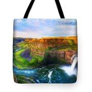 Nature Cool Landscape Tote Bag