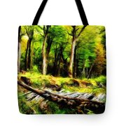 Landscape On Nature Tote Bag