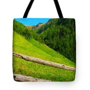 Nature Landscape Art Tote Bag