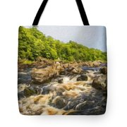 Nature Landscape Oil Painting Tote Bag