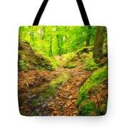 Nature Landscape Oil Painting Tote Bag