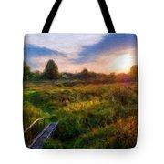 Nature Landscape Work Tote Bag