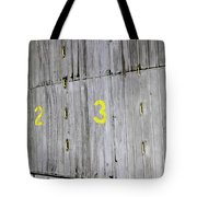 1234 Tote Bag by Stephen Mitchell