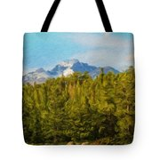 Landscape Paintings Canvas Prints Nature Art  Tote Bag