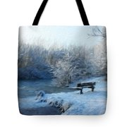 Nature Landscape Oil Painting On Canvas Tote Bag