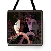1258 - Stream Of Sadness 2017 Tote Bag
