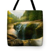Nature Art Landscape Canvas Art Paintings Oil Tote Bag