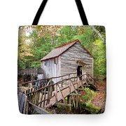 1267 Great Smoky Mountain Cable Mill Tote Bag