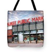 1275 Milwaukee Public Market Tote Bag