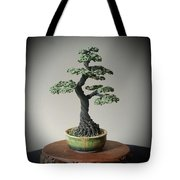#128 Cloth Wrapped Wire Tree Sculpture Tote Bag