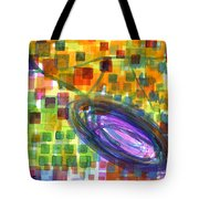 Joyful Whirl Of Colours Tote Bag