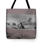 12th Panzer Division On The Move To Stalingrad August 1942 Color Added 2016 Tote Bag