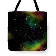 Abstract Stars Nebula Tote Bag