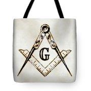 Ancient Freemasonic Symbolism By Pierre Blanchard Tote Bag