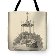 Drawn To Paris Tote Bag
