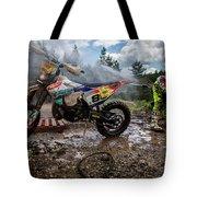 Enduro Race  Tote Bag