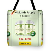 Green-relief Tote Bag