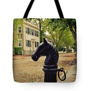 Nantucket Hitching Post Tote Bag